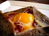 Galette oeuf/ formage..