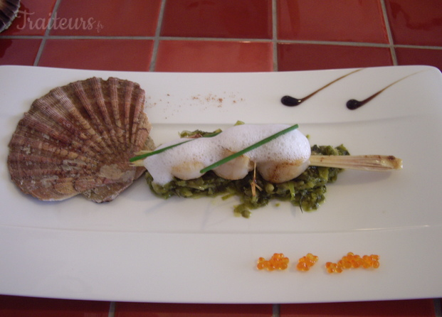 Brochette de St-Jacques