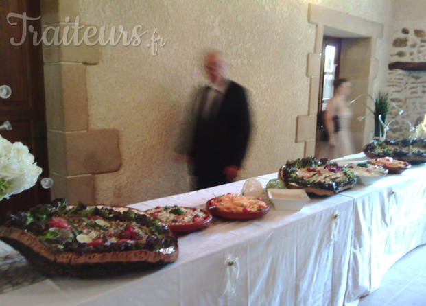 Buffet froid pour mariage